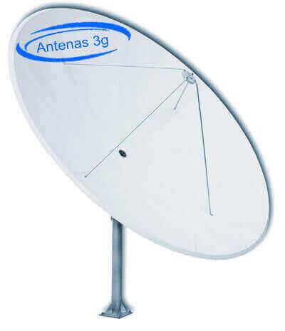 Antena Parabólica Rural 3g 4g ou 5g 50 dbi de ganho
